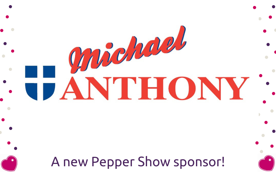Pepper Show Headline sponsor announced for Saturday's Gig Night!