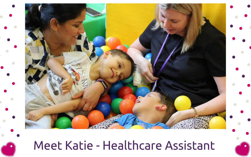 Meet Katie Mohun, Healthcare Assistant on the Children's Team
