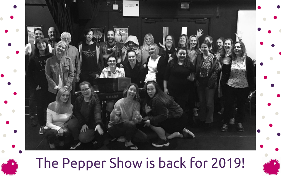 2019 Pepper Show Announcement
