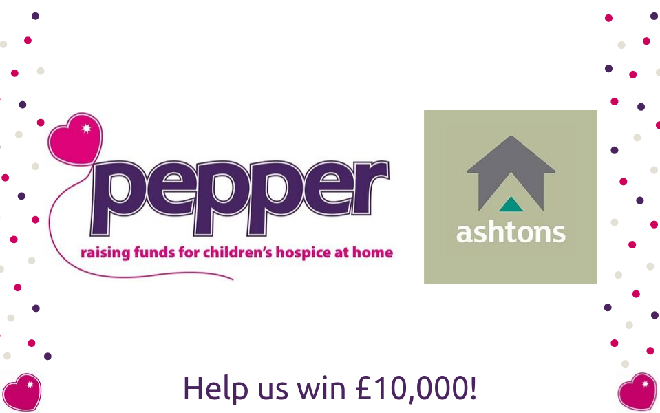 Help Pepper get up to £10,000 in just 5 minutes