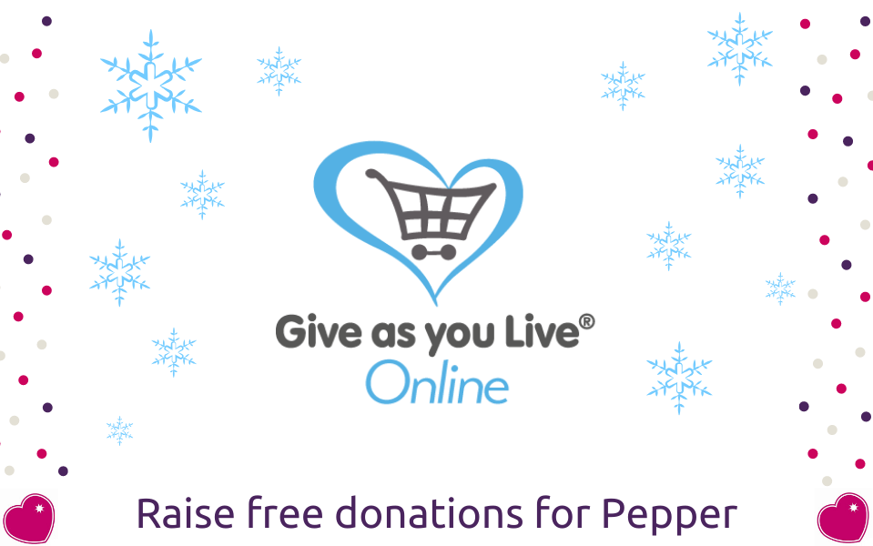 Raise free money for Pepper this Christmas