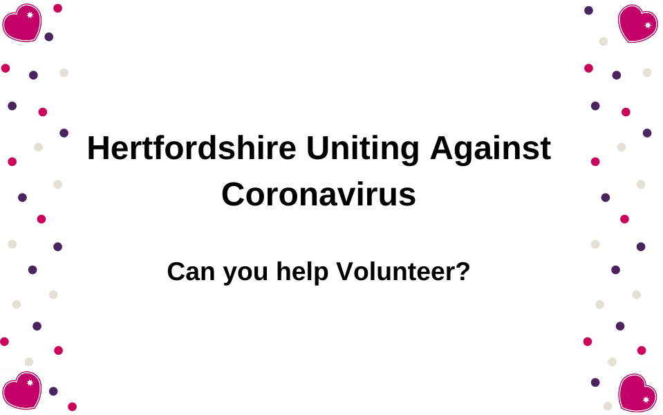 Can you help Volunteer for #TeamHerts?
