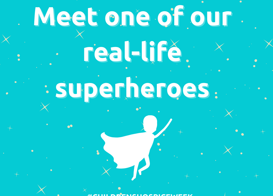 Meet Leanne Spriggs, our real-life superhero!