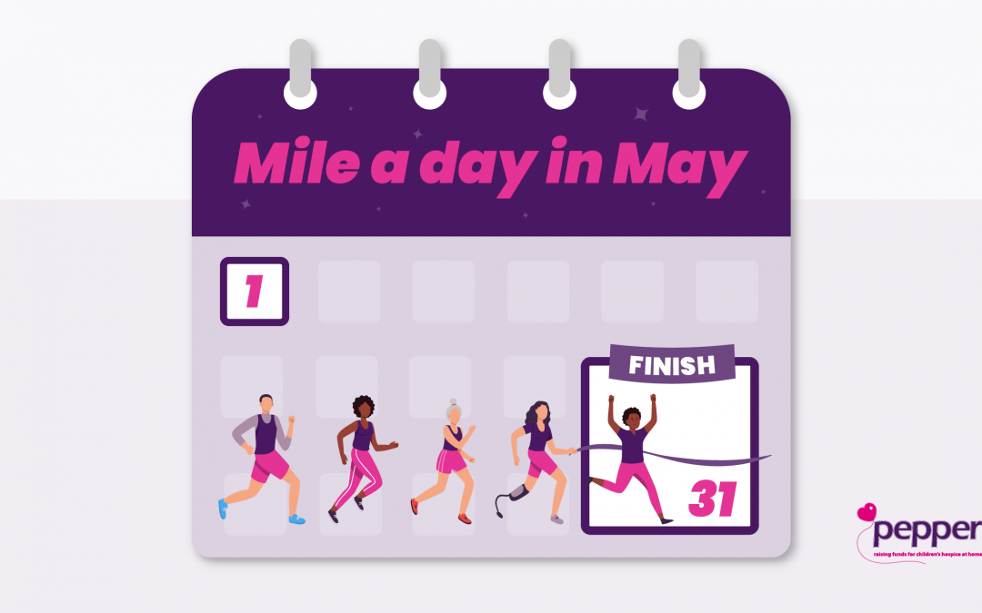Mile a day in May